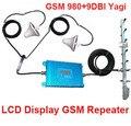 Для России ЖК-дисплей 980 GSM 900 МГц booster Ж/27 М Кабеля + 2 комнатная Антенна, 900 МГц GSM репитер усилитель сигнала 900 МГц ретранслятор