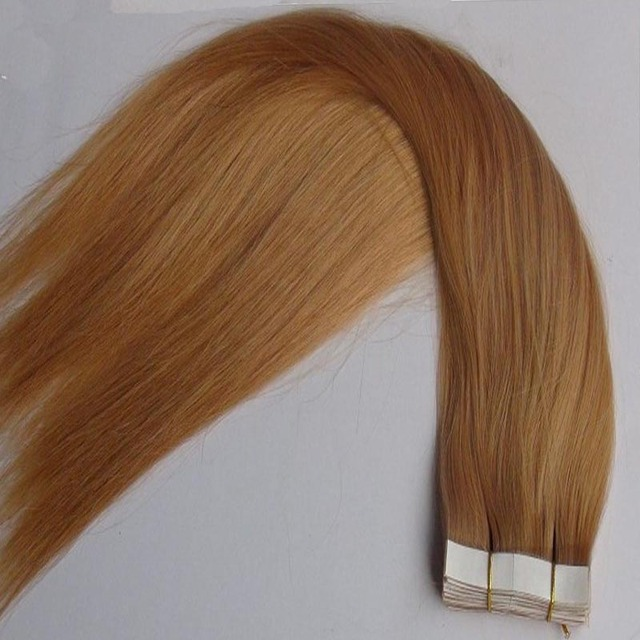 10 26 Remy Seamless Tape Hair Extensions Straight Tape Hair