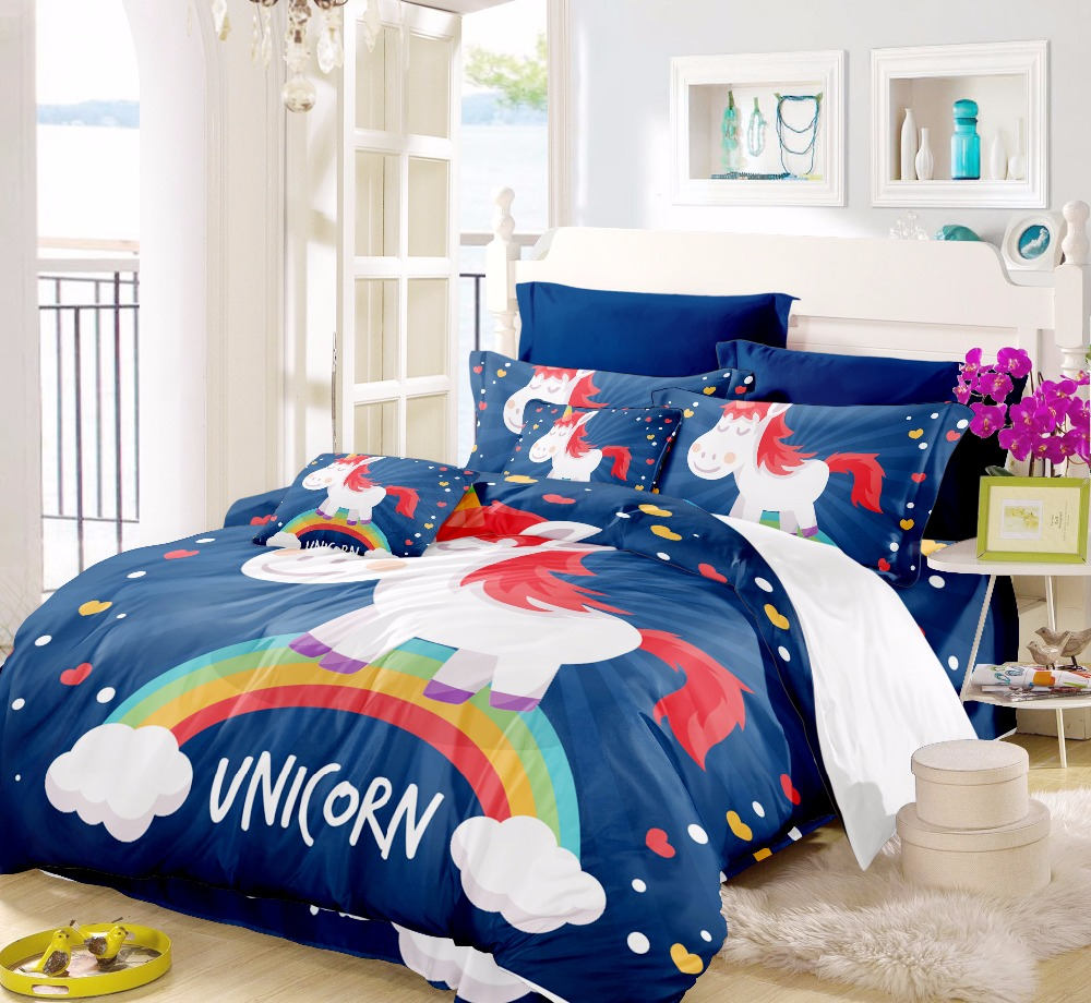 Permalink to Bed Unicorn Bedding Set For Girls Bedspread Child China Air Express Bed Pikachu Kawaii Bed Sheets Bed Sheet Duvet Cover F