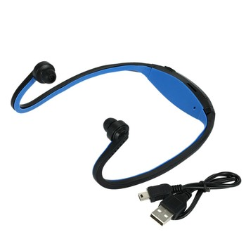 Neckband Bluetooth Earphone Wireless Headset Sports Headphone Bone Conduction Earbuds Support TF Card For Samsung XiaoMi MP3