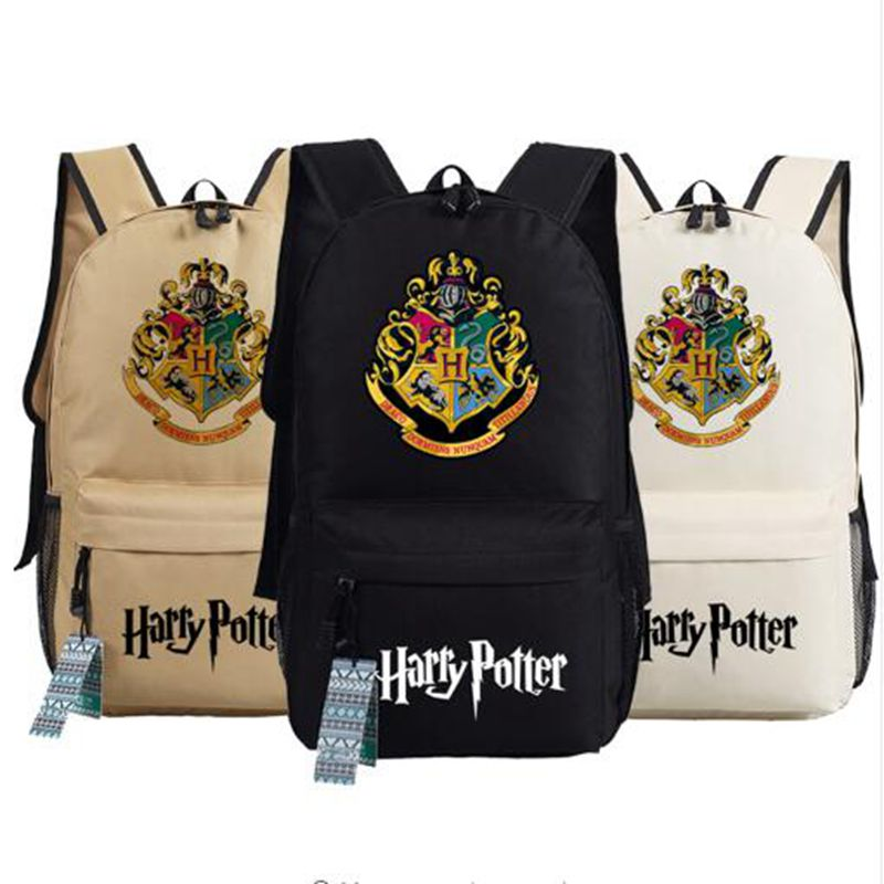 Harry Potter School Bags Book Backpacks Children Bag Fashion Shoulder Bag  Rucksack Students Backpack Travel Bag 0e17e7af3e79a