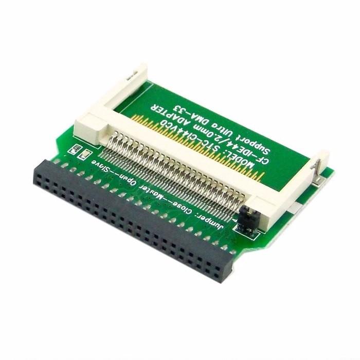 "CF Compact Flash Merory карты до 44pin 2.5 ""дюйма IDE жесткий диск SSD адаптер конвертер"