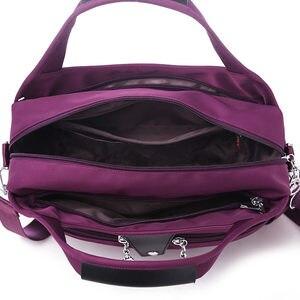 Image 5 - Naylon Kadın askılı çanta bayan çanta Su Geçirmez Kadın omuzdan askili çanta Tasarımcısı Yüksek Kaliteli Crossbody Çanta Genç Kızlar Için