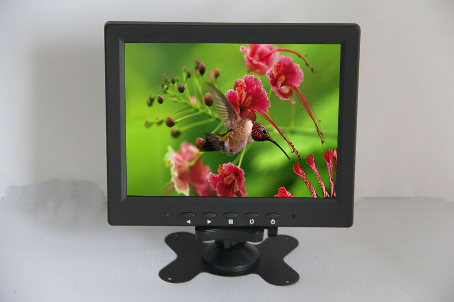 8.4 inch LCD monitor display LCD monitor display industrial monitor with VGA/BNC