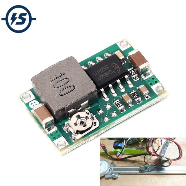 10 pcs Mini360 Mini-360 DC-DC HM Buck Converter Step Down Voeding Module 4.75-23 V naar 1-17 V 340 KHz Ultra-kleine Voor Arduino