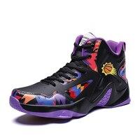 2019 Professional high basketball shoes men's sports air cushion Jordan retro basketball comfortable breathable sports shoes