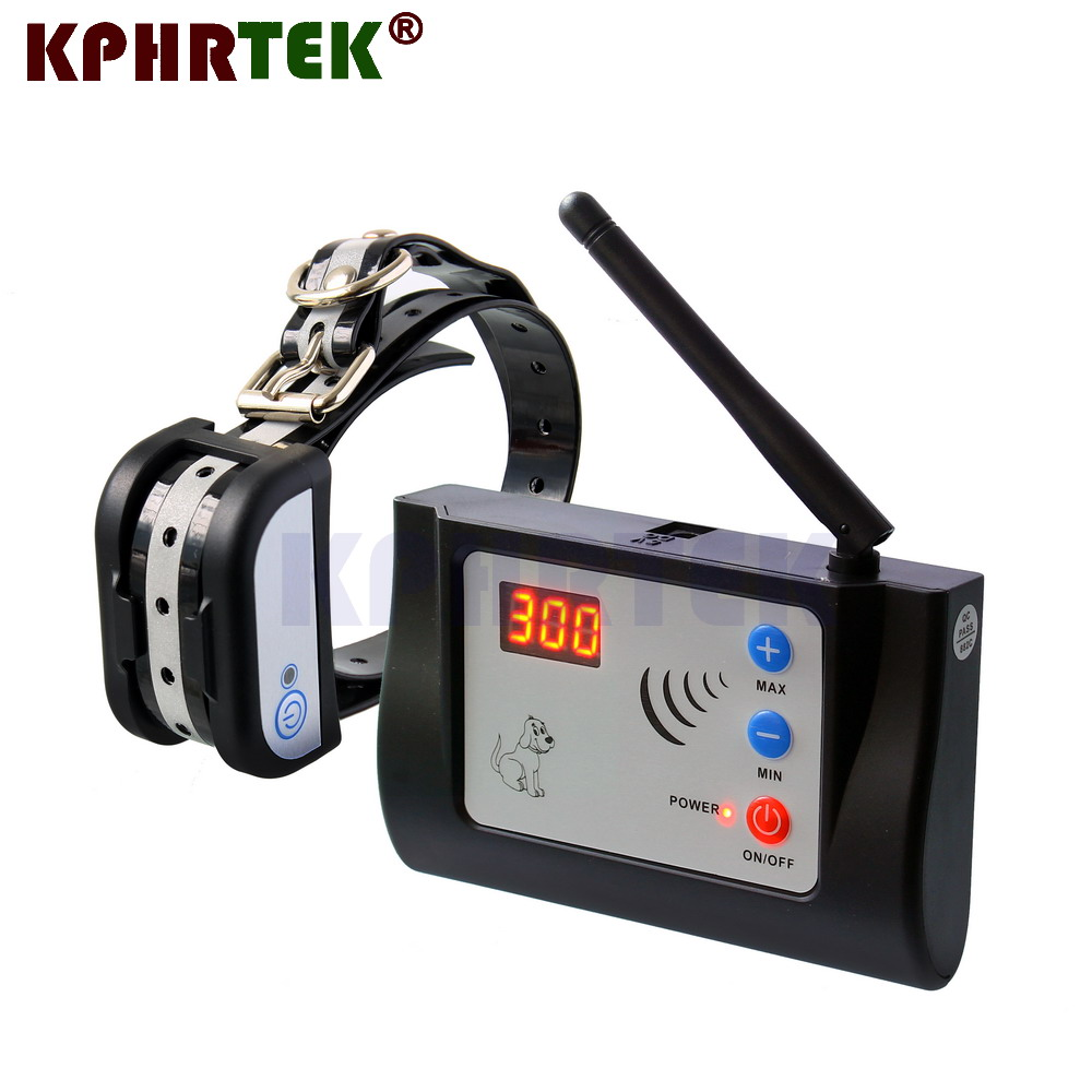 New Arrival Wireless Electronic Pet Fence System For 1 Dog Rechargeable Receiver Training collars 27g9