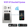 2016 Hot Sell Keyless Home Entry System IP Wireless Video Door Phone Intercome System work with WIFI/ RJ45/ 3G/ 4G