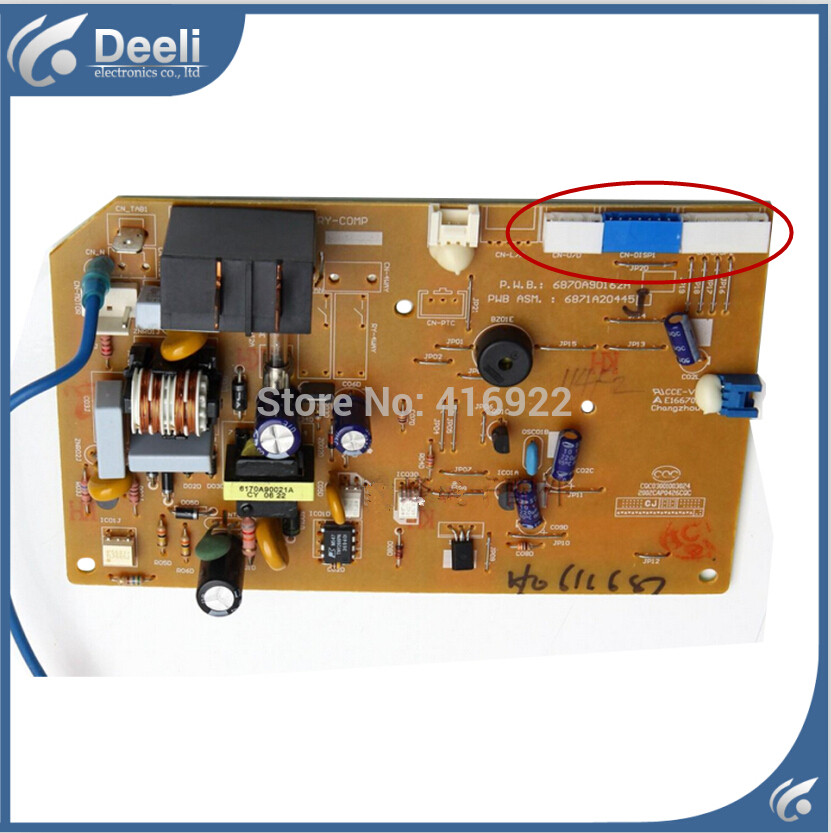 ФОТО 95% new good working for air conditioning Computer board 6871A20445J 6870A90162A LS-L3211CT pc control board