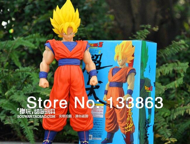 ФОТО NEW Dragon ball Z dolls, The Monkey King Goku figure chidren toys, 40cm high, hot sale toys, free shipping
