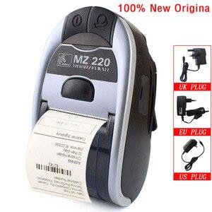 Image 1 - Impresora térmica móvil con Bluetooth para Zebra MZ220, 100% Original, inalámbrica, de 48mm para tickets o etiquetas, 203 dpi