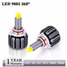 Auto Lights Led HB3 9005 Bulbs 6000K 30W 12V Kit Spot Lighting Lampada For Car 360 Super Diode Headlamp