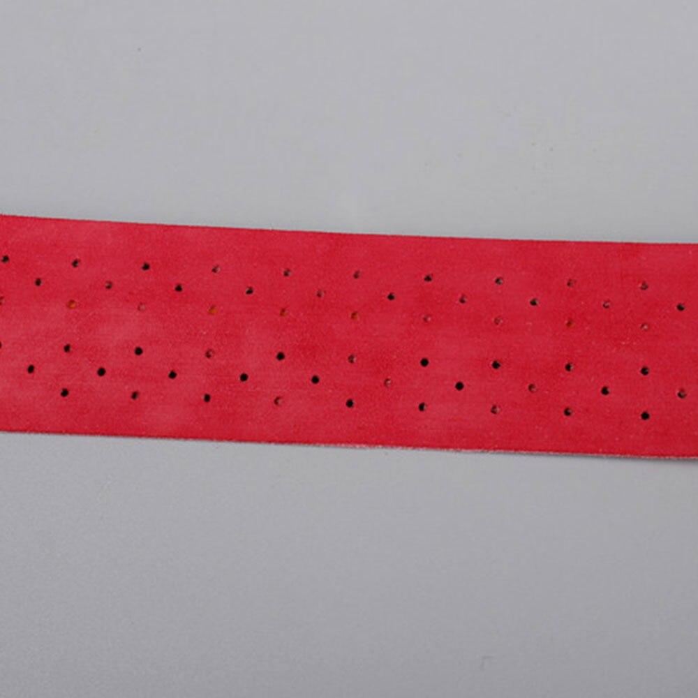 5 цветов Ручка лента инструменты для лента для ракетки ручка аксессуары Шариковая ручка лента для игры ракетка для тенниса Спорт бадминтон - Цвет: red