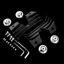 Для Harley Sportster 883 1200 XL883 XL1200 XL50 железа 2004- мотоциклетные перетащите морщин Свеча зажигания двигателя заполнена декоративная крышка