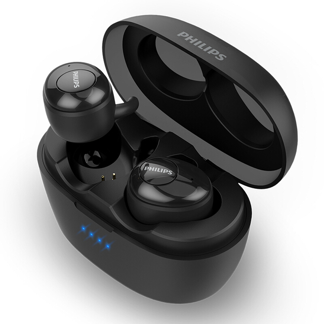 original Philips SHB2505 Earphones Wireless 5.0 Bluetooth HIFI Fever Noise Reduction sports headset for huawei xiaomi