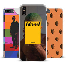Frank Ocean Blonde Coque mobile Phone Case Cover Shell For Apple