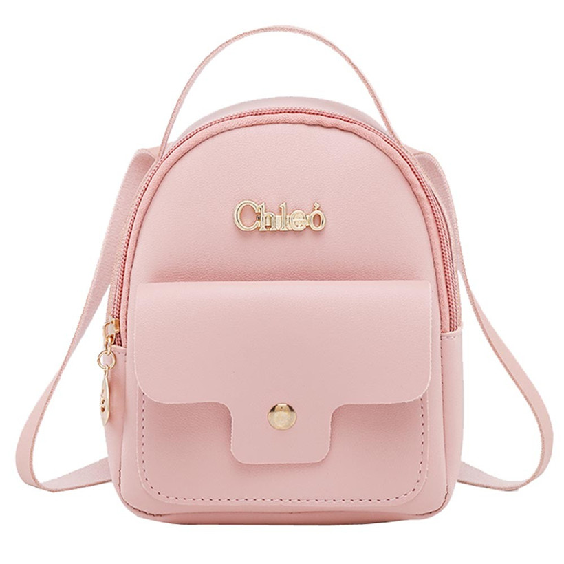 1289414acb New Designer Fashion Women Backpack Mini Soft Touch Multi-Function Small Backpack  Female Ladies Shoulder Bag Girl Purse