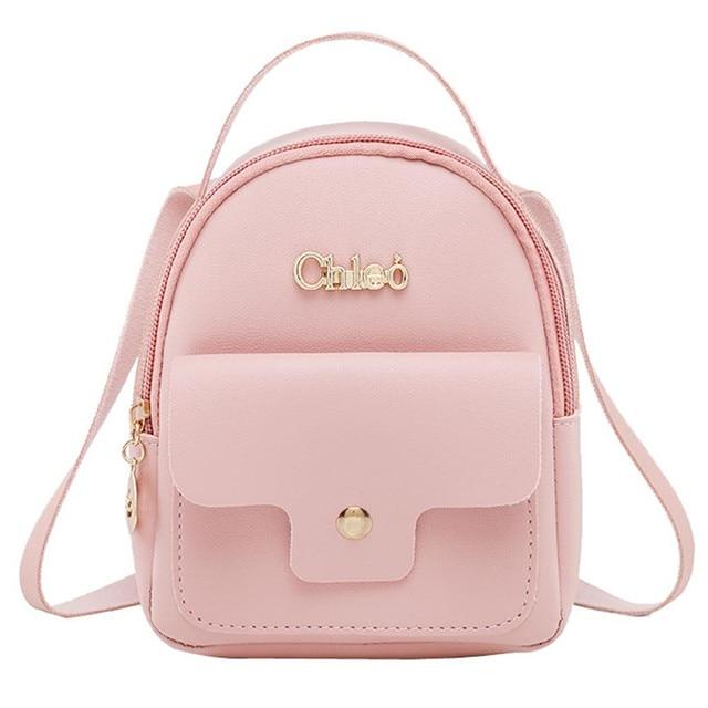 57c64f97af Nouveau Designer mode femmes sac à dos Mini doux au toucher multi-fonction  petit sac