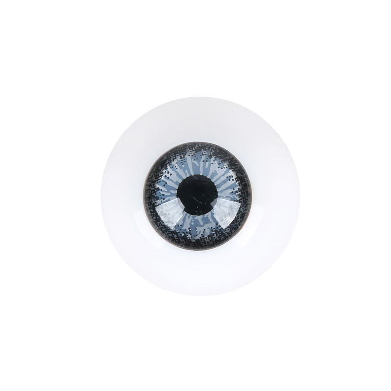 1 Pair Acrylic BJD Dolls Eyes 18mm Plastic Eyeballs for Doll Accessories Eyes for Dolls DIY Toys for Girls Gifts in Dolls Accessories from Toys Hobbies