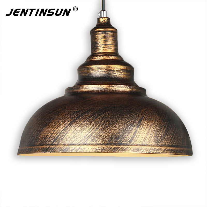 Nordic Loft Retro Industrial Style Pendant Light LED Novelty Lamp Copper Silver Hanging Lamps Home Fixture for Restaurant Bar