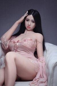Image 3 - 168cm מין Dolts נדל סיליקון סקס בובות לגבר המציאותיות מאונן שד יפני בובת מין נרתיק