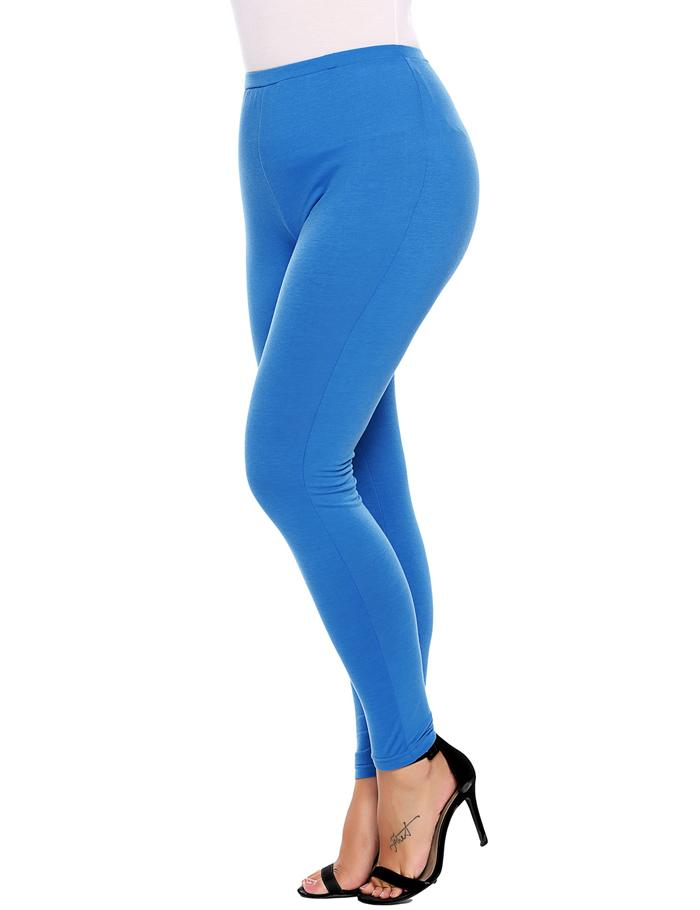 Plus Sized Women's Leggings - Blue, Brown, Black - L, XL, XXL, XXXL, 4XL - image HTB1rzkmSpXXXXc2XVXXq6xXFXXXY on https://awesomeleggingstore.com