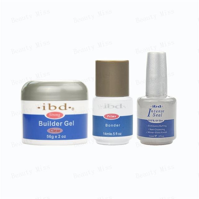 Acrylic Nail Art Uv Gel Saloon Ibd Builder Clear Bonder Primer Seal Strong