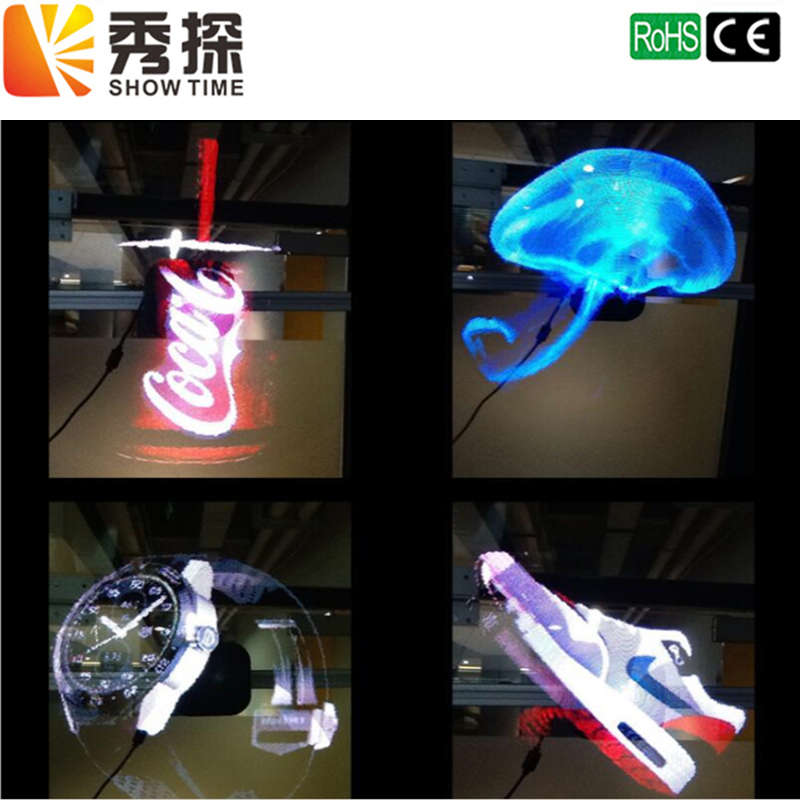 Truth 3D Hologram LED 3D Display 3D Naked Eye Effect