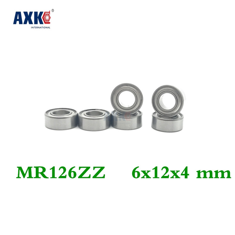 100pcs <font><b>Mr126zz</b></font> L-1260 Deep Groove Ball Bearing 6x12x4 Mm Miniature Bearing Abec3 image