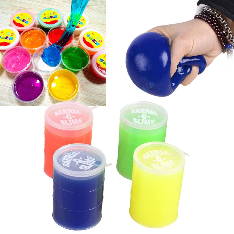 Small Transparent Smile Squishy Soft Squeeze Toy Kids Stress Relief Jelly