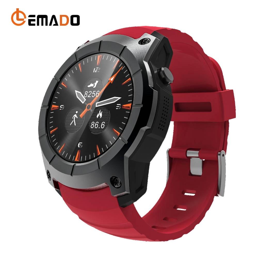 Lemado Q958 Mens Smart Watch GPS SIM Card relogio Bluetooth Inteligente Watch music player Wearable Devices For Android & IOS smart baby watch q60s детские часы с gps голубые