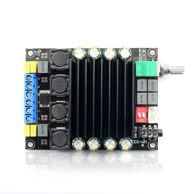 TDA7498 Digital Amplifier Audio Board DC12-36V 2*100W Power Audio Amp 2.0 Class D Amplifiers Stereo B9-003