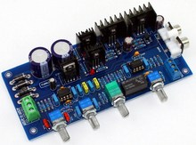 New Version Assembled Class A NE5532 Adjustable Volume Preamp Board With Sound Switch