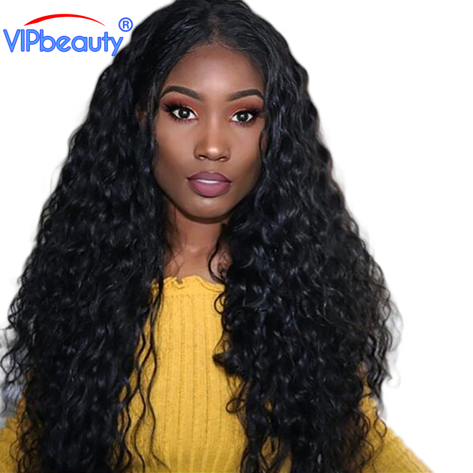 Vipbeauty Peruvian Water Wave Bundles Non-Remy Hair Natural Color 100% Human Hair Weave 10-28 Inch 1 Piece/Lot