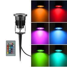 Миниатюрный светодиодный rgb светильник 8 Вт ip65 для газона