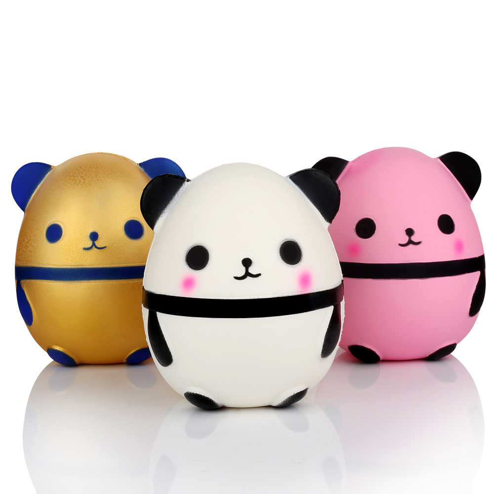 Squishy Panda Sport Entertainment Antistress Squish Novelty Gag Speelgoed Gadget Stress Relief Speelgoed Fun Populaire Squeeze Verrassing