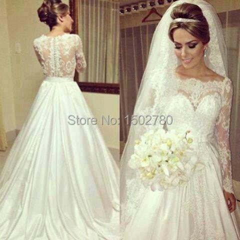 80s Wedding Gowns Eh26302 Jpg