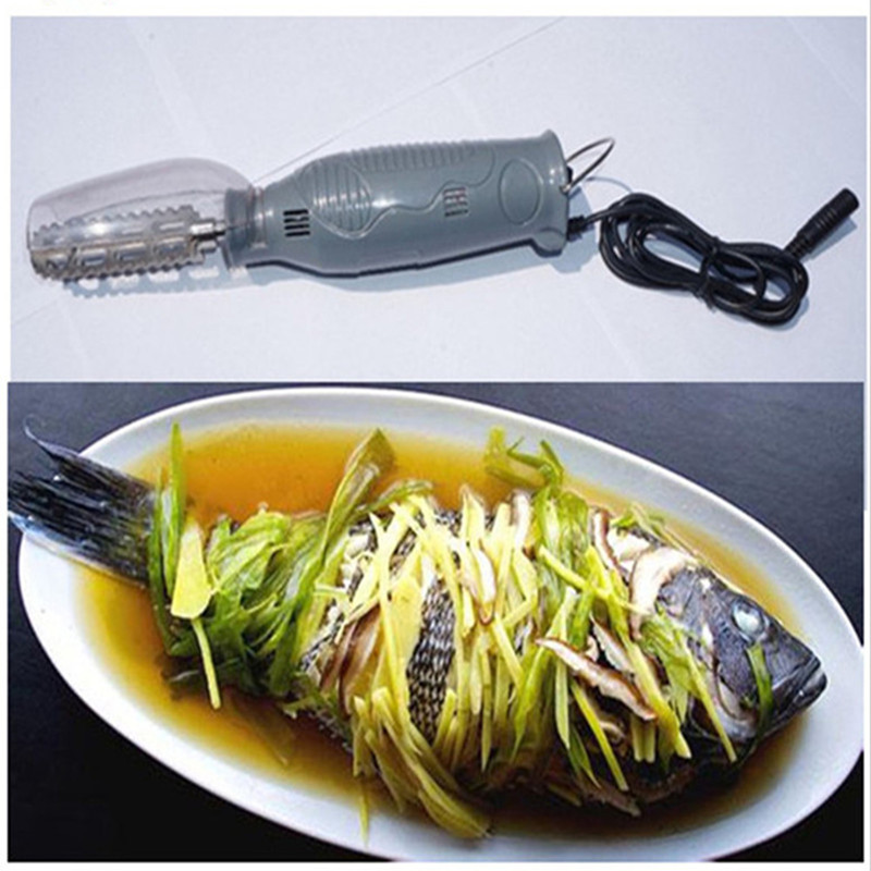 Electric scraping fish scales machine home use manual electric fish scaler