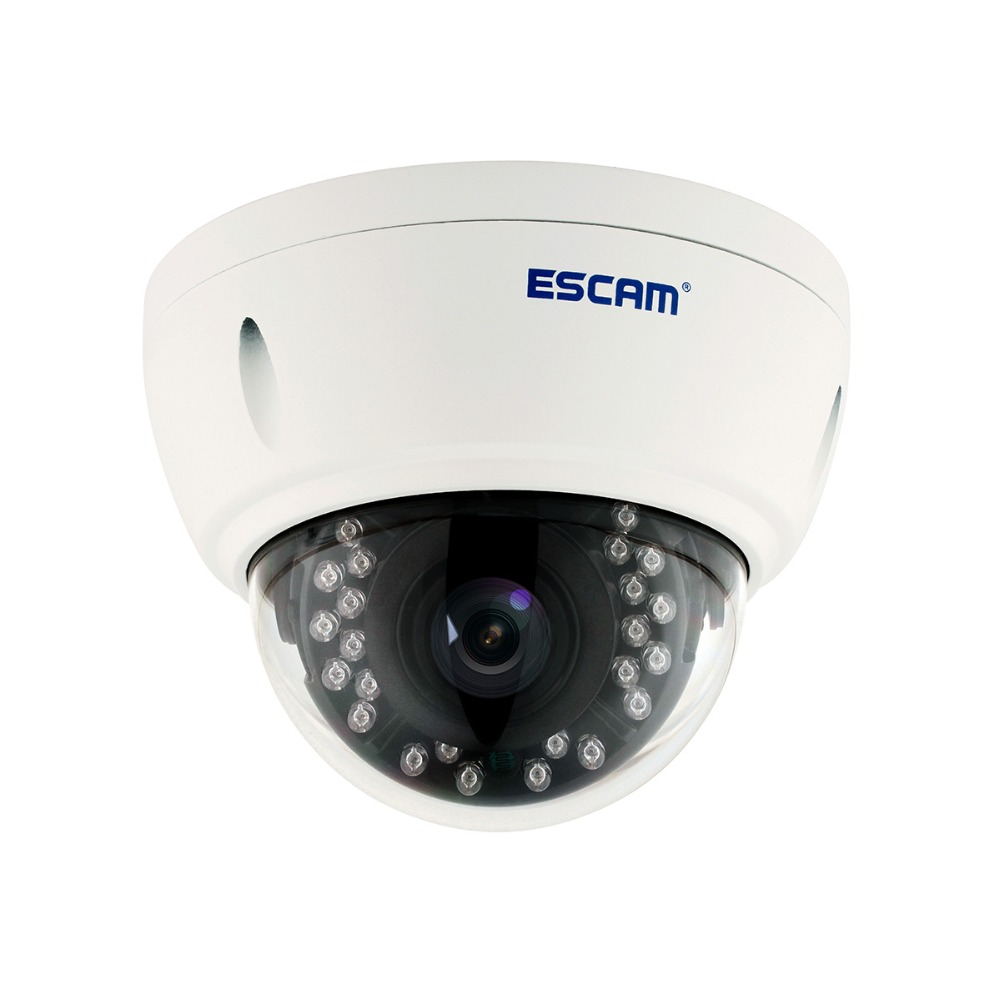 ESCAM QD420 H.265 4MP IP66 waterproof outdoor IP Dome Camera 1520P Onvif P2P IR Surveillance Night Vision Security CCTV Camera heanworld dome ip camera hd h 265 5 0mp cctv security camera video network camera onvif surveillance outdoor waterproof ip cam