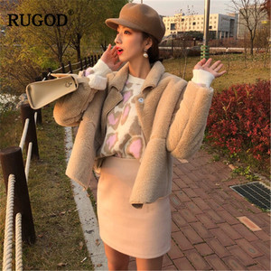 Image 3 - RUGOD Vintage Fashion Leopard Women Sweaters Knitted Warm Winter Clothes Casual O Neck Women Pullover pull femme hiver