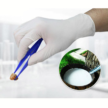 100pcs/lot Disposable Latex Medical anti-virus Gloves Universal Cleaning Work Finger Gloves Protective Food Cosmetic for Safety