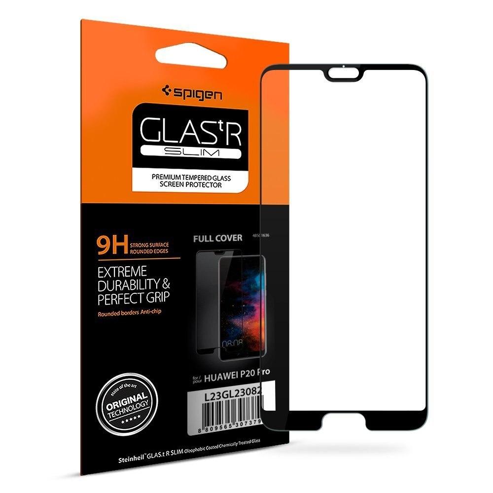 100% Original SPIGEN Huawei P20 Pro Screen Protector Glas. tR Volle Abdeckung Aus Gehärtetem Glas L23GL23082