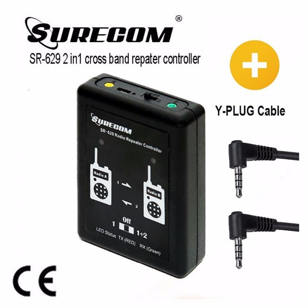 SR 629 2 in 1 Duplex Repeater Controller FREE CABLE for YAESU radio FT 50 FT