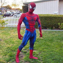 3D Ombra Spandex Spiderman Costume Fullbody Halloween Cosplay Spider-man Superhero Costume Per Adulti/Bambini 2018 Regalo di Nozze Favori(China)
