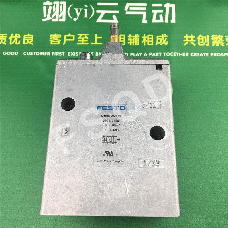 MOFH-3-1/2 MOFH-3-1/8 7884 FESTO original solenoid valve festo original authentic basic valve 6817 sv 3 m5
