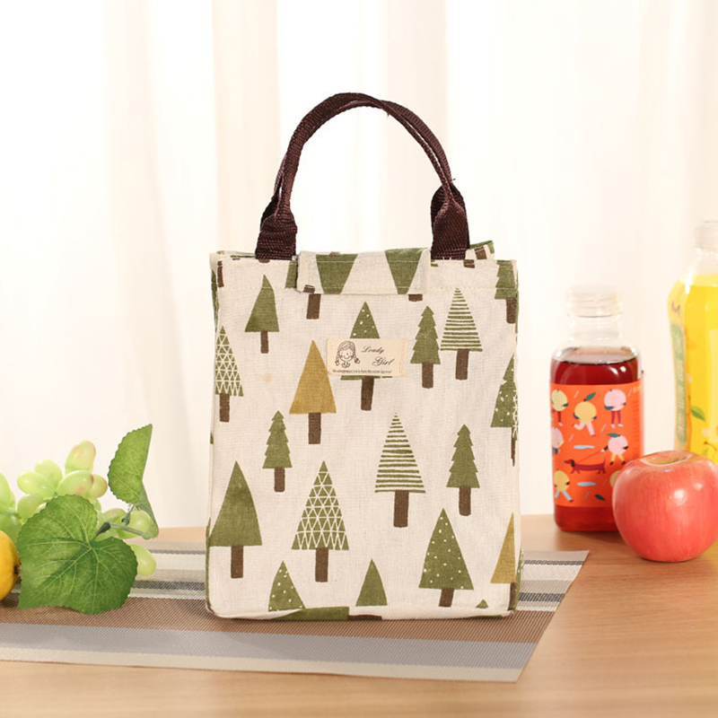 New Oxford Ice Bag Travel Portable Food Bag Women Lovely Ice Pack Organizer Thermal Bags Animal Printing Cute Lunch Cooler Bags