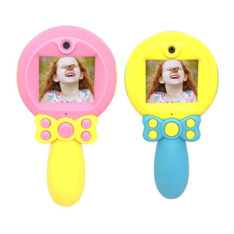 Детская фотокамера 2,0 дюймов цветной дисплей милый 3MP двойной объектив видеокамера для детского подарка