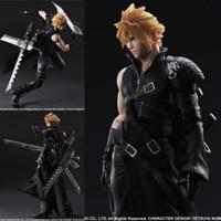 Final Fantasy Cloud Strife VII 7 Advent Figure PVC Collection Hobby Model 27cm