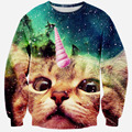 Unicorn Hoodies 3D Cats Clothing Men Thundercat/Grumpy Pusheen Cat Sweatshirts Mermaid/Bacon/bow Tie Kitty Pullovers Sweatshirt