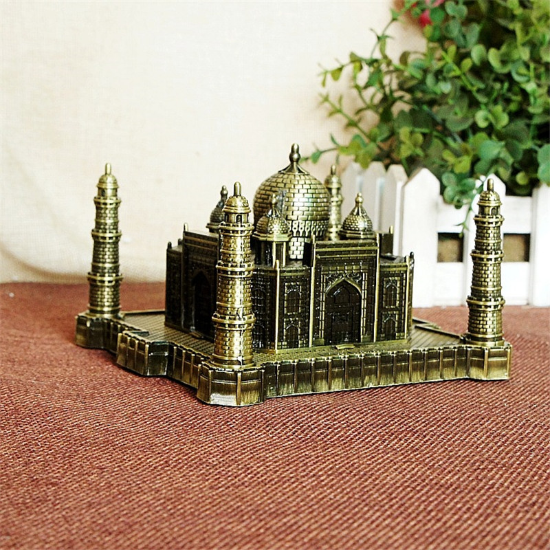 India Taj Mahal Decoratie Metal Crafts World Landmark Gebouw - Huisdecoratie - Foto 5